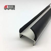 Резинопластиковый уплотнитель П-образный 18 мм.