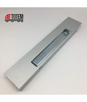 Алюминиевая стойка с замком 400 мм